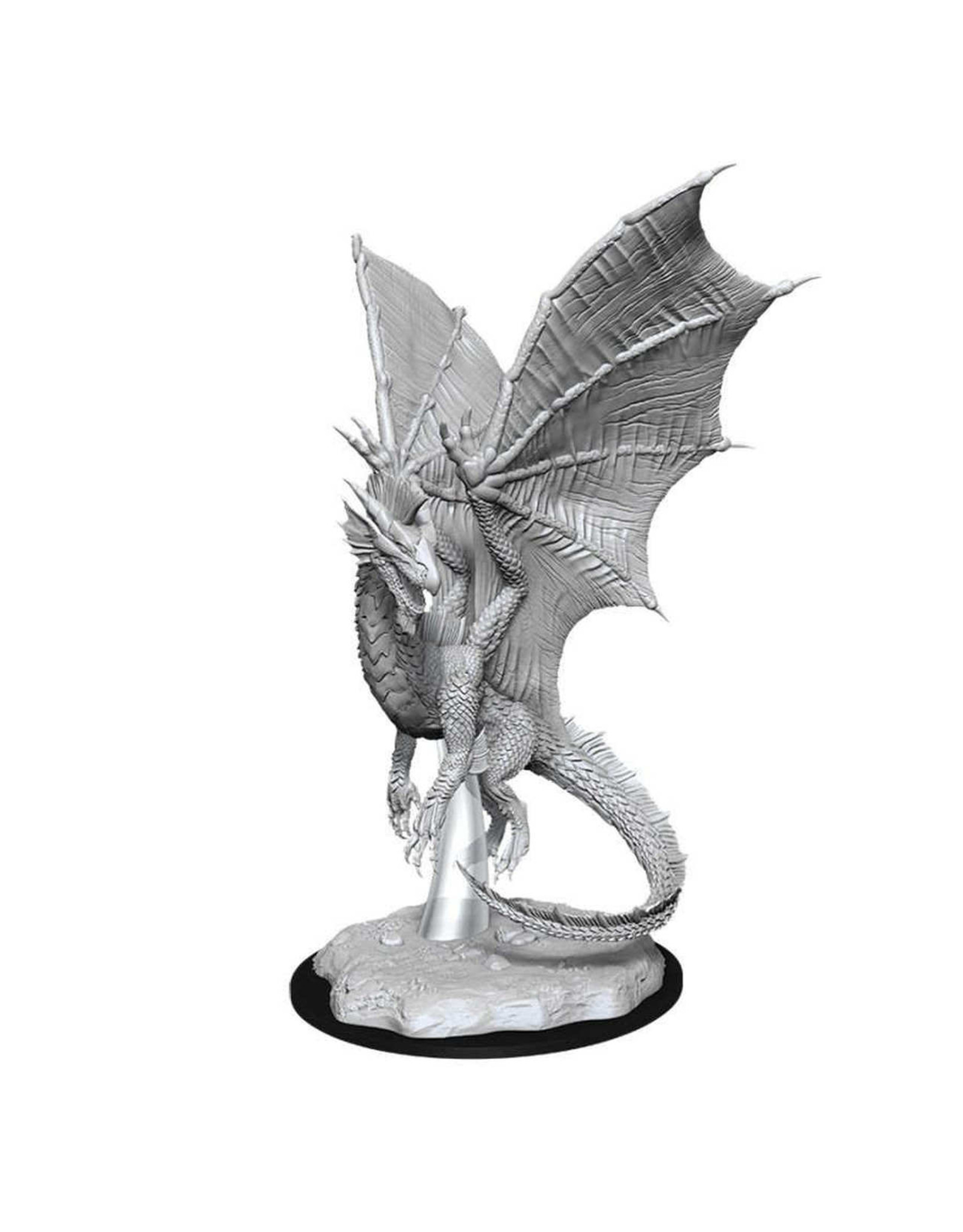 D&D Young Silver Dragon