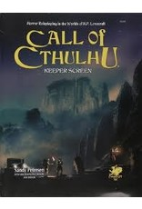 Call of Cthulhu 7th Keeper Screen Pack