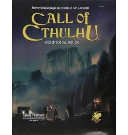 Call of Cthulhu 7th Keeper Screen Pack