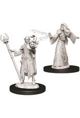 D&D Male Elf Wizard W9
