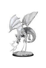 Dungeons & Dragons D&D NMU Young Blue Dragon