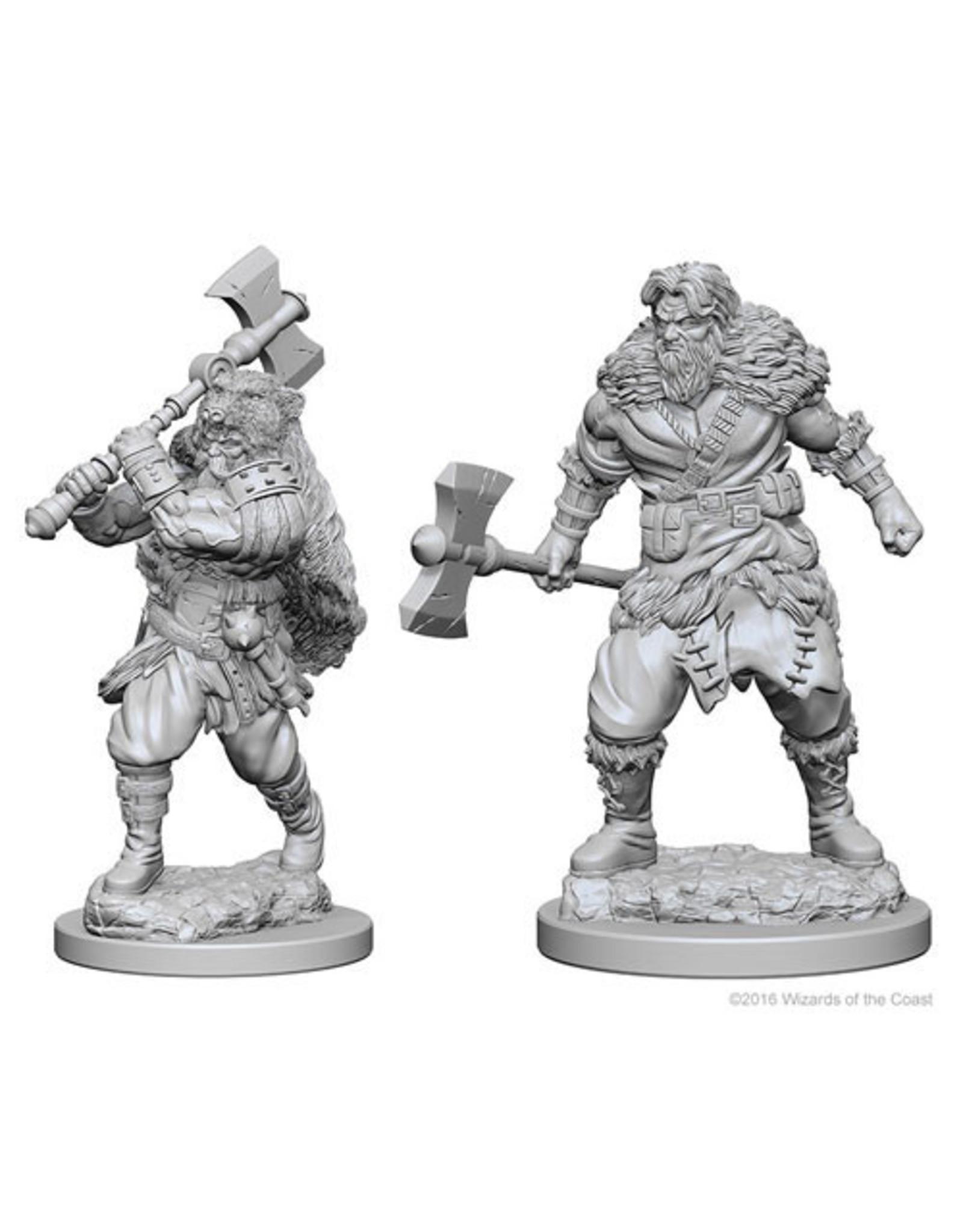 Dungeons & Dragons D&D NMU Human Male Barbarian