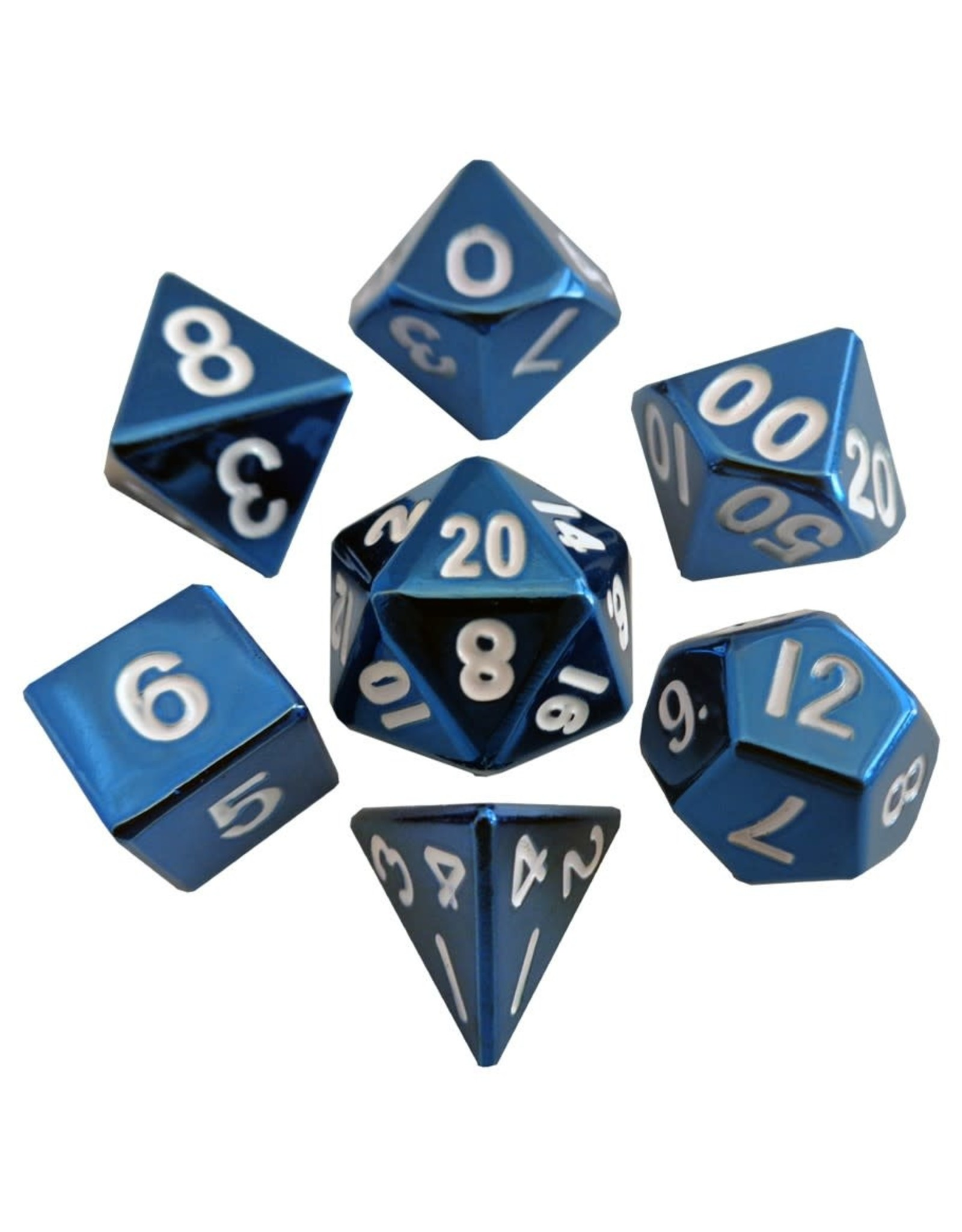 7 Die Set: 16mm: BU Painted Metal