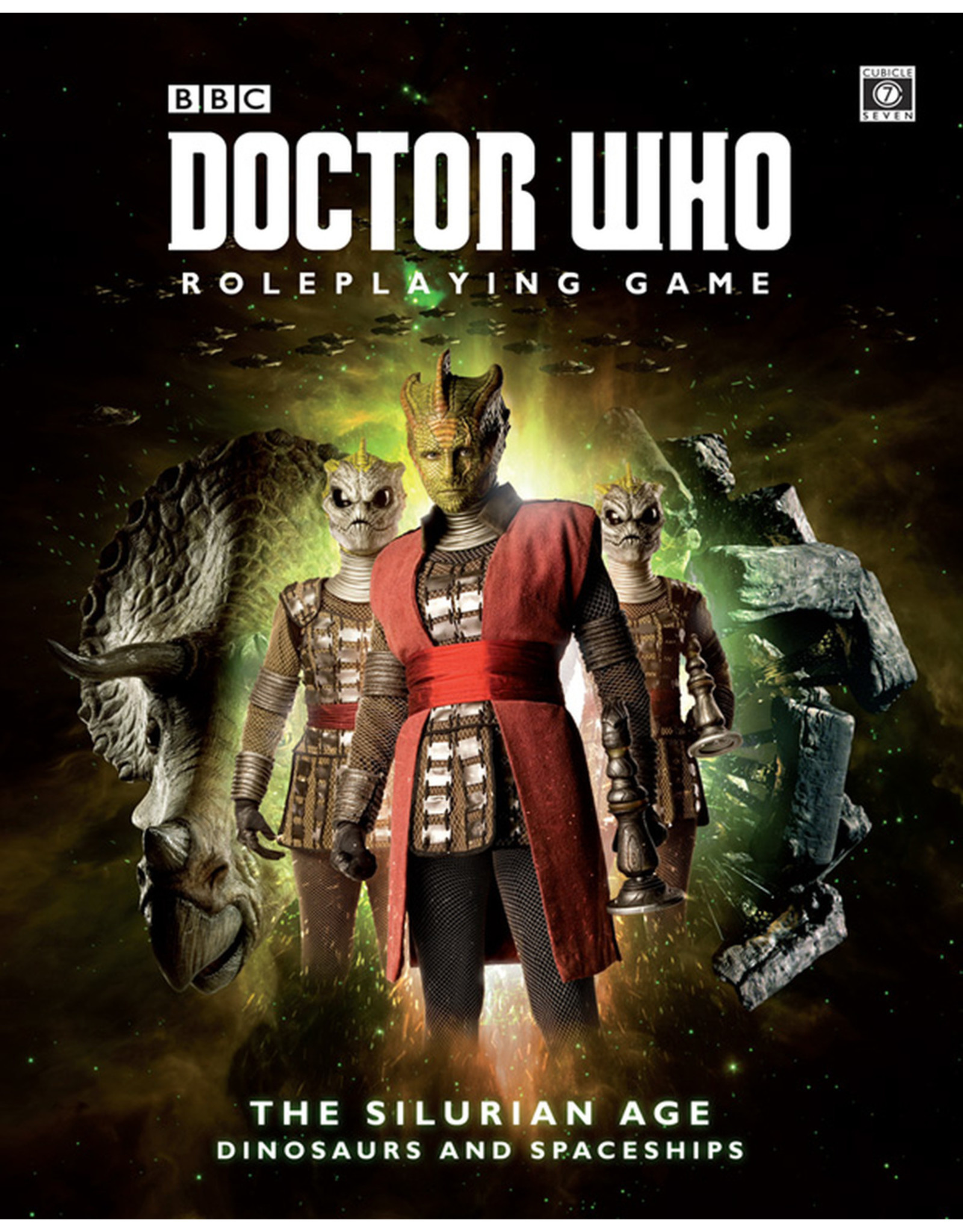 Dr Who RPG Silurian Age Dinosaurs and Spaceships