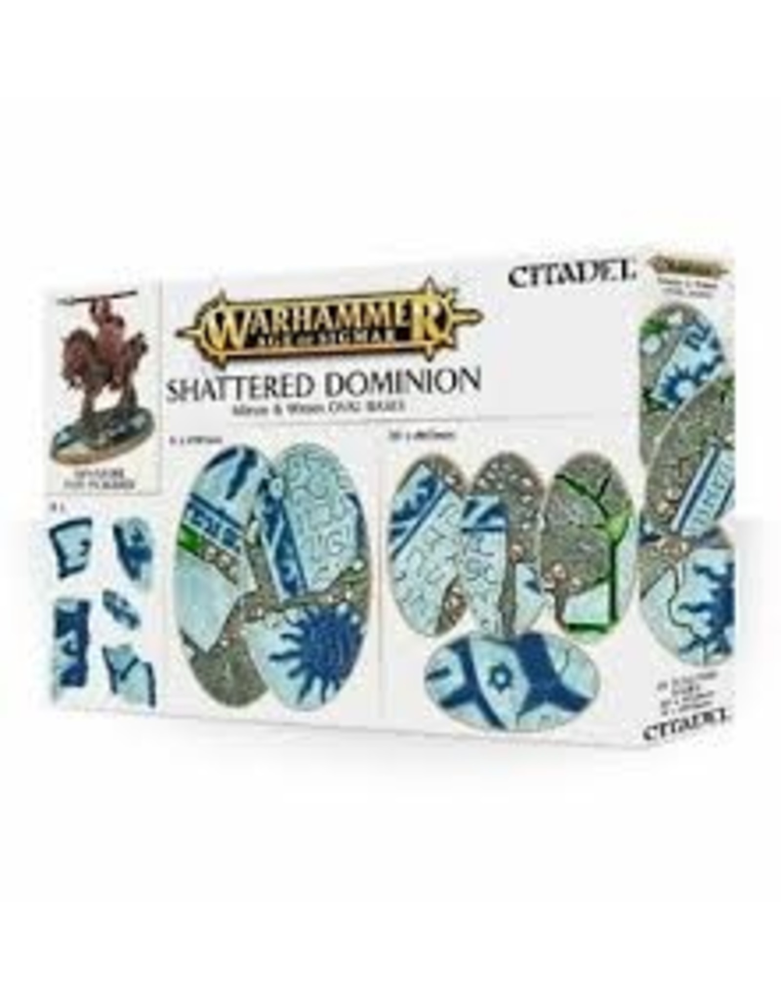 AOS Shattered Dominion 60mm & 90mm Oval Bases