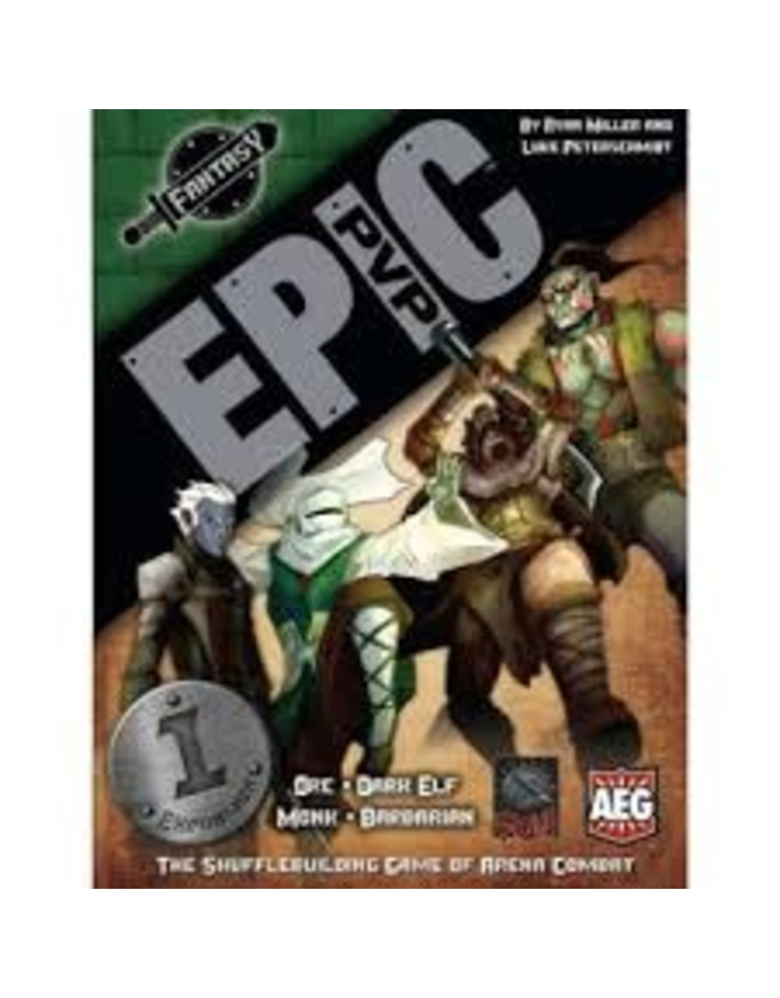 "EPIC PVP: FANTASY - EXPANSION #1 ""ORC, DARK ELF, MONK, BARBARIAN"""