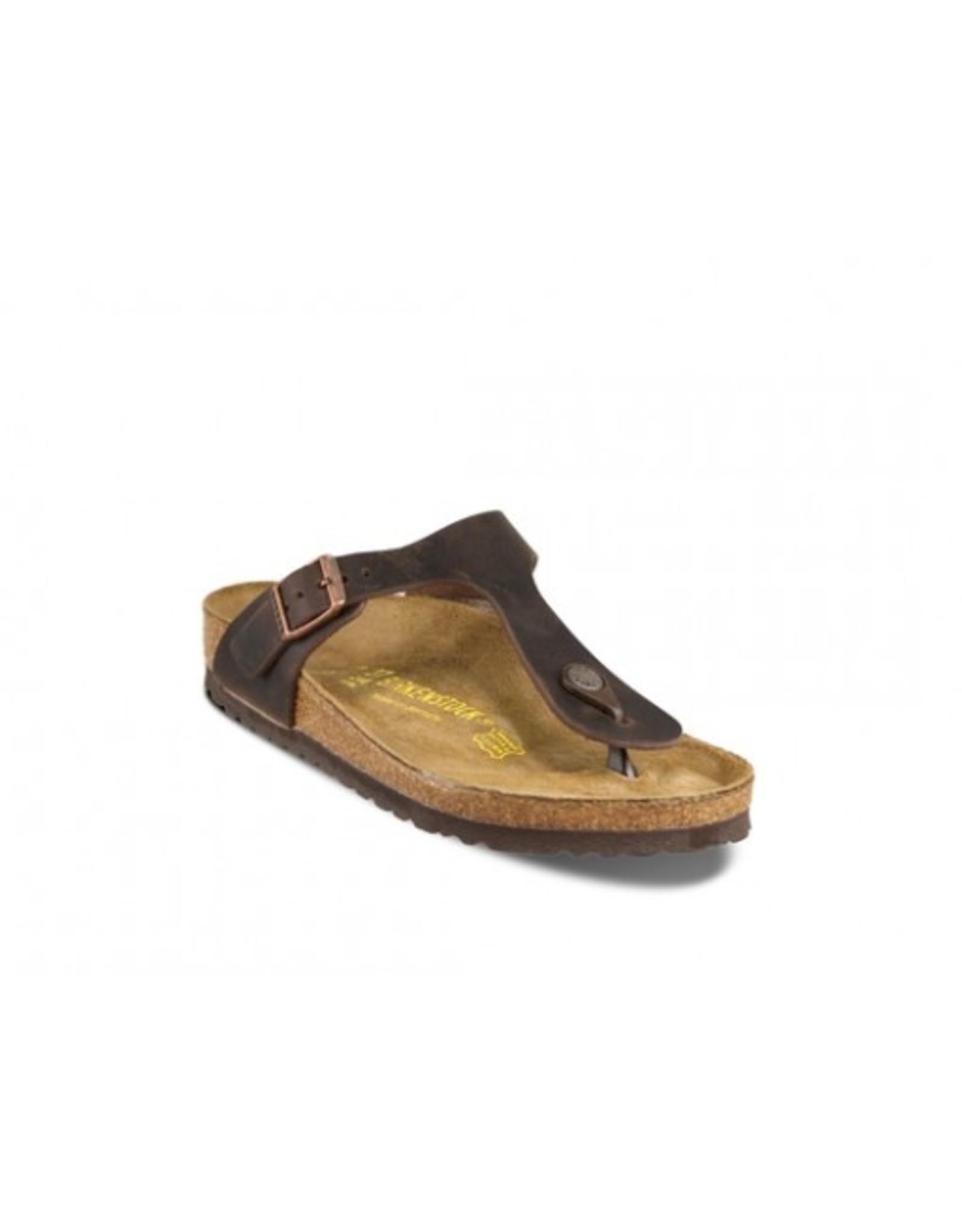 Birkenstock Gizeh Havana, Oiled Leather