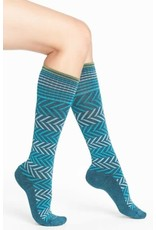 Sockwell Sockwell Compression Chevron Teal S-M