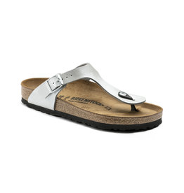 Birkenstock Gizeh Leather, Silver