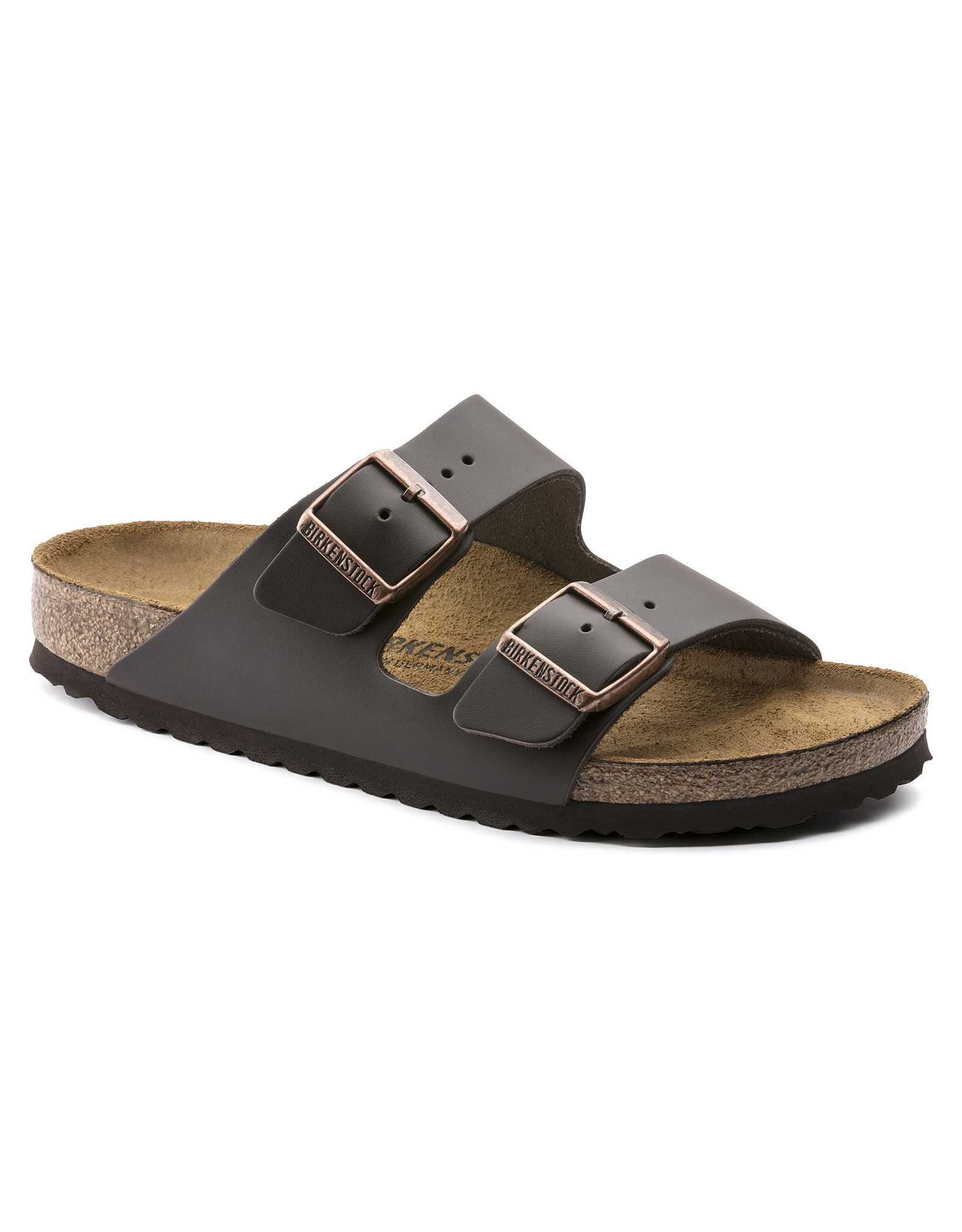 Birkenstock Arizona Dark Brown Leather (N)