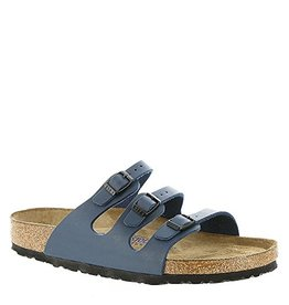 Birkenstock Florida Birko - Flor, soft footbed, Blue