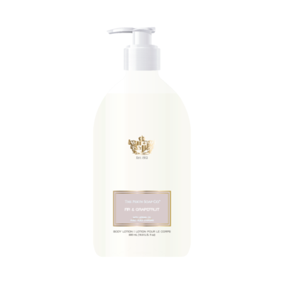 Perth Soaps Fir & Grapefruit Body Lotion