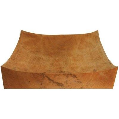 BeHome Mango Wood Square Wave Platter