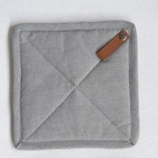"Bloomingville 8"" Square Cotton Pot Holders - Sage"