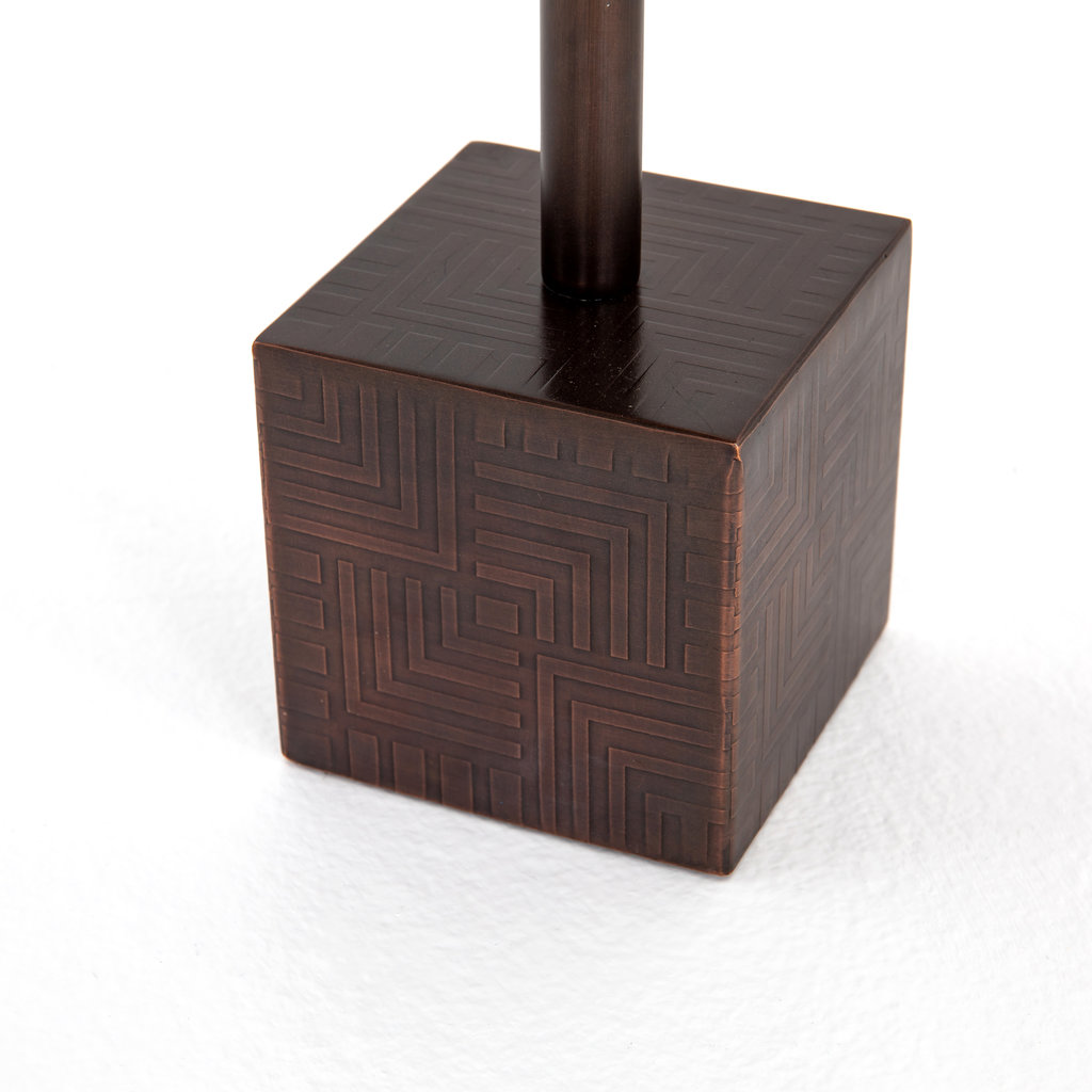 Four Hands Sirus Adjustable Accent Table Bronze