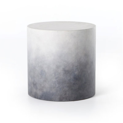 Sheldon End Table-Indigo Ombre