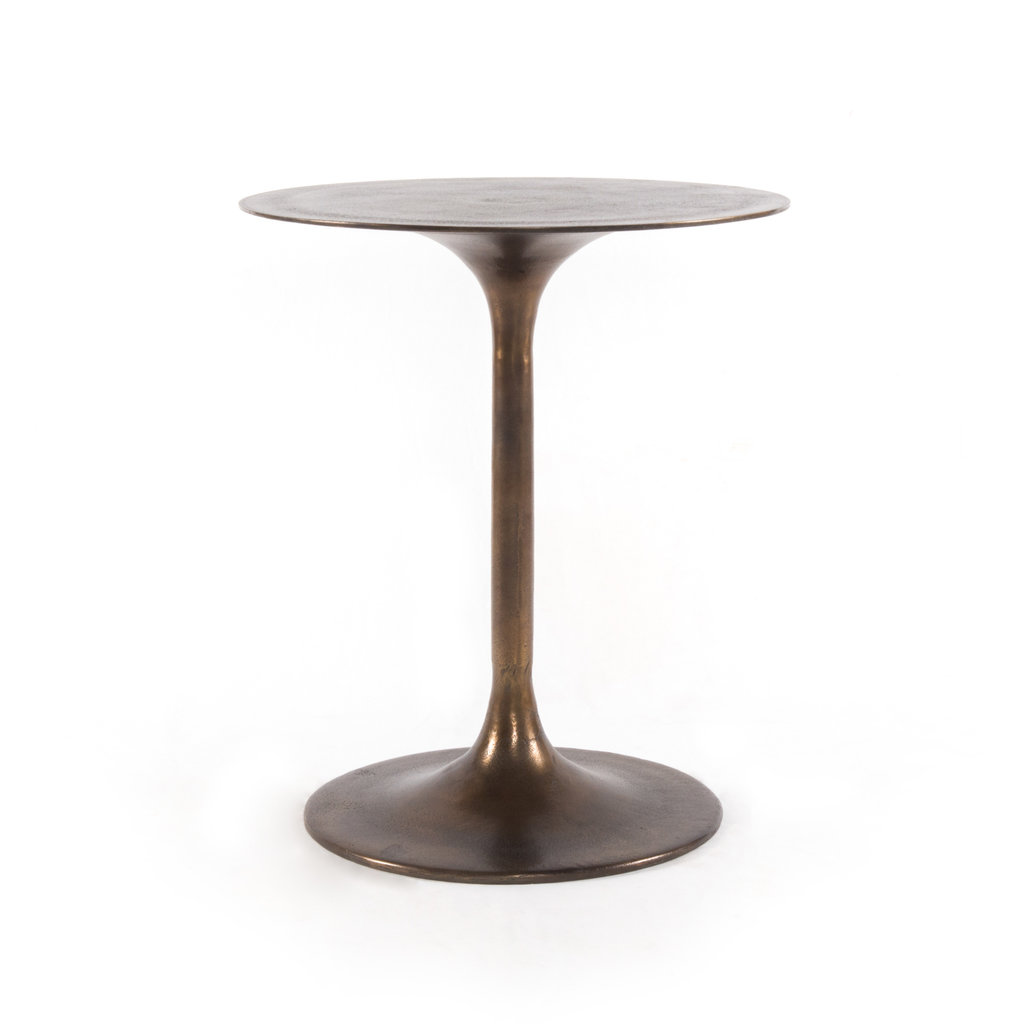 Four Hands Tulip Side Table-Antique Rust