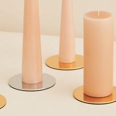 Ester&Erik E&E - Candle Plates Cone -  Brushed Brass