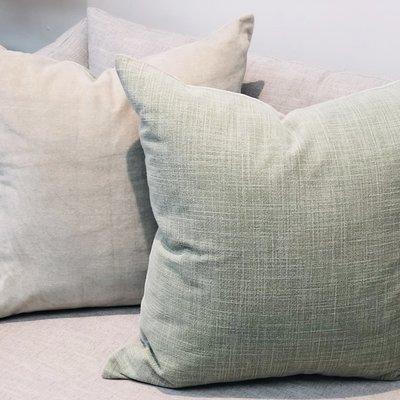 Loloi Loloi Sage Green Velvet Pillow 22 x 22