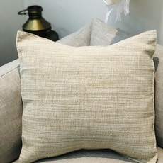 "Wayil Guatemala Handmade Pillow 20"" x 20"" Bone/Pistachio  AMOP22C"