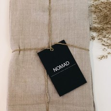 BeHome Linen Tea Towels, Birch, Set of 2