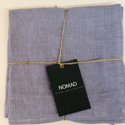 BeHome Linen Napkins Chambray Set of 4