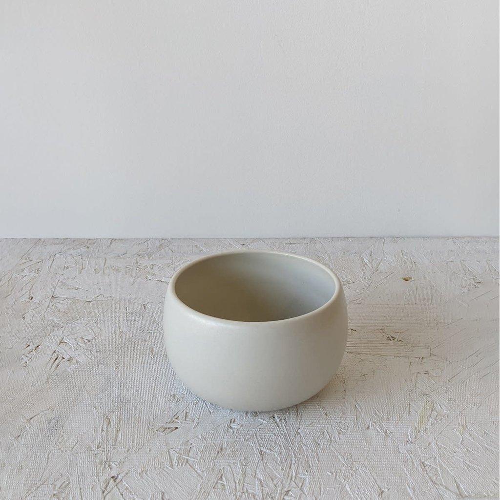 "Gharyan Cereal/Soup Bowl 4.3"" Matte White"
