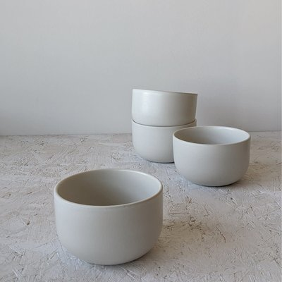 "Gharyan Soup Bowl 5.5"" Matte White"