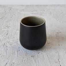 Gharyan Coffee/Tea Cup EDAN 7.5 oz Matte Black/Linen