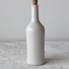 Gharyan Olive Oil Bottle Brutto 21 oz  Matte White