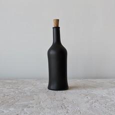 - Olive Oil Bottle Brutto 21 oz  Matte Black