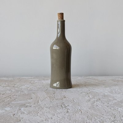 Gharyan Olive Oil Bottle Brutto 21 oz -Linen