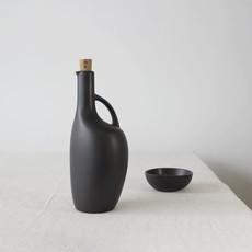 Gharyan Olive Oil Bottle Canard 34 oz Matte Black