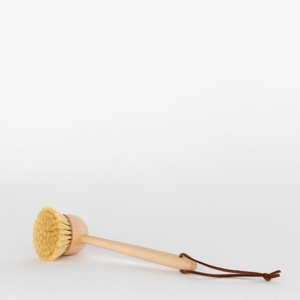 Creative Co-Op Beechwood Dish Brush