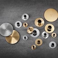Ester&Erik E&E - Candle Plates Cone -  Brushed Brass