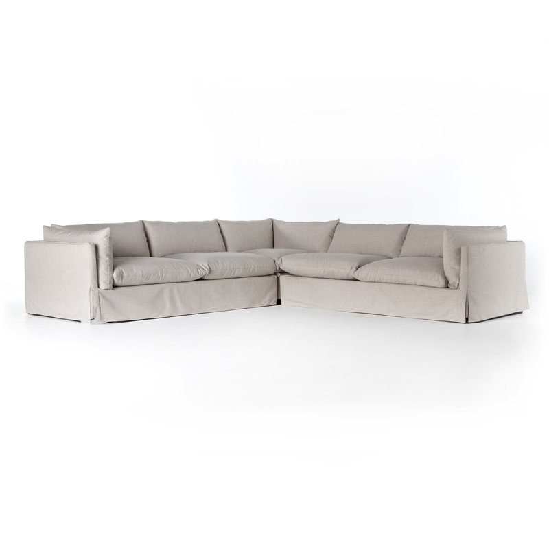 Four Hands Habitat Sectional- Colour Options Available