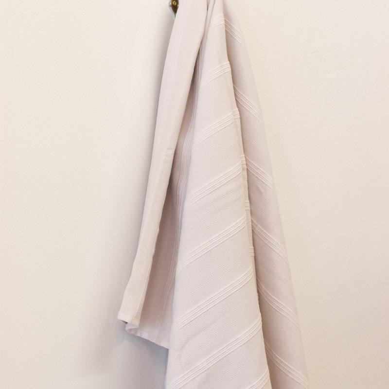 PHTEKSTIL Vita Terry Bath Sheet  CREAM