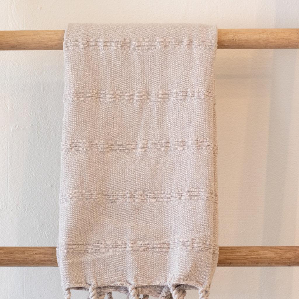 Stonewash Hand Towel  BEIGE