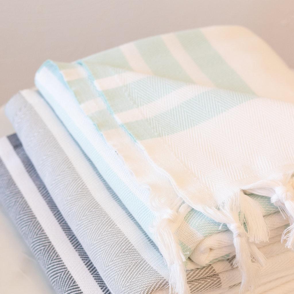 Soli Peshtemal Bath Sheet  GREY