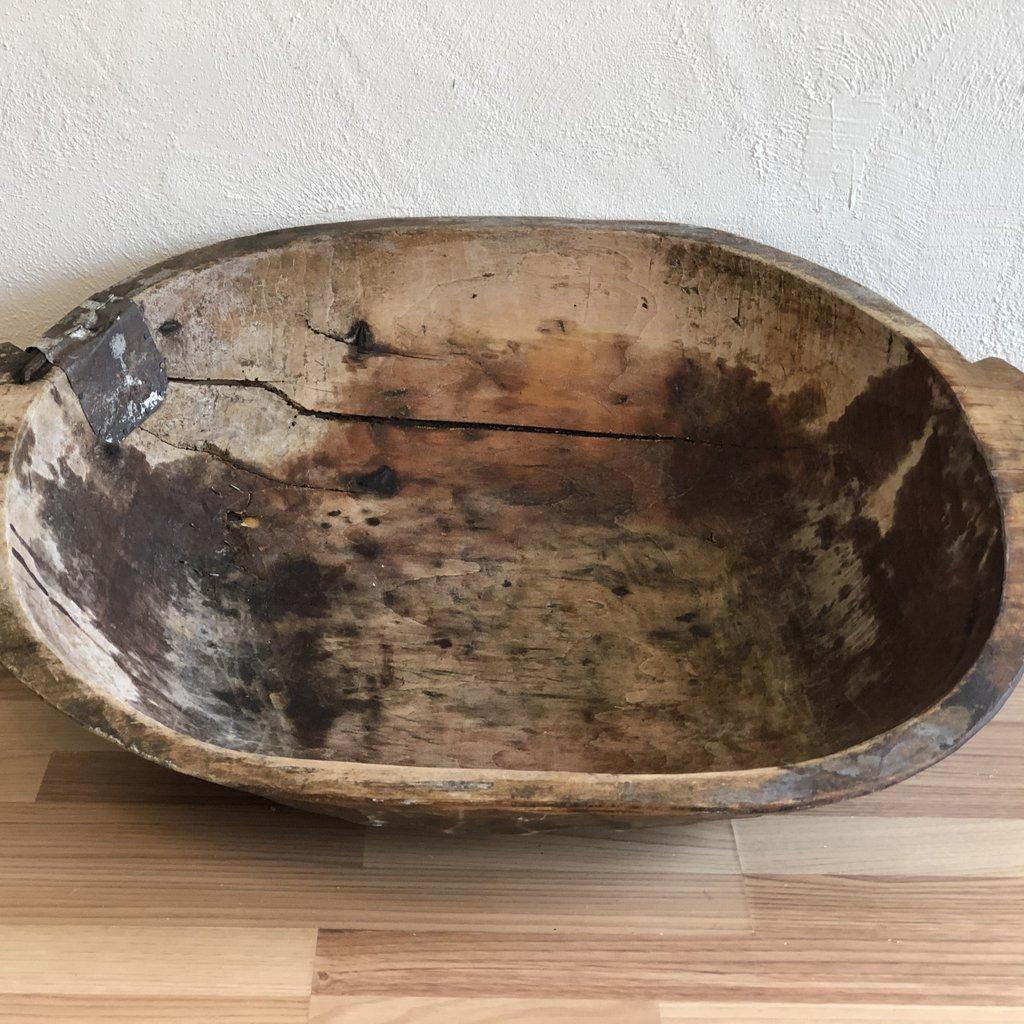 Oval Vintage Dough Bowl