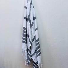 Soli Peshtemal Bath Sheet  BLACK