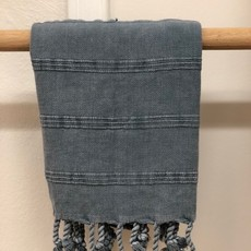 Stonewash Hand Towel  DENIM