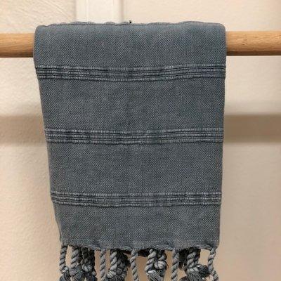 Stonewash Hand Towel  DENIM