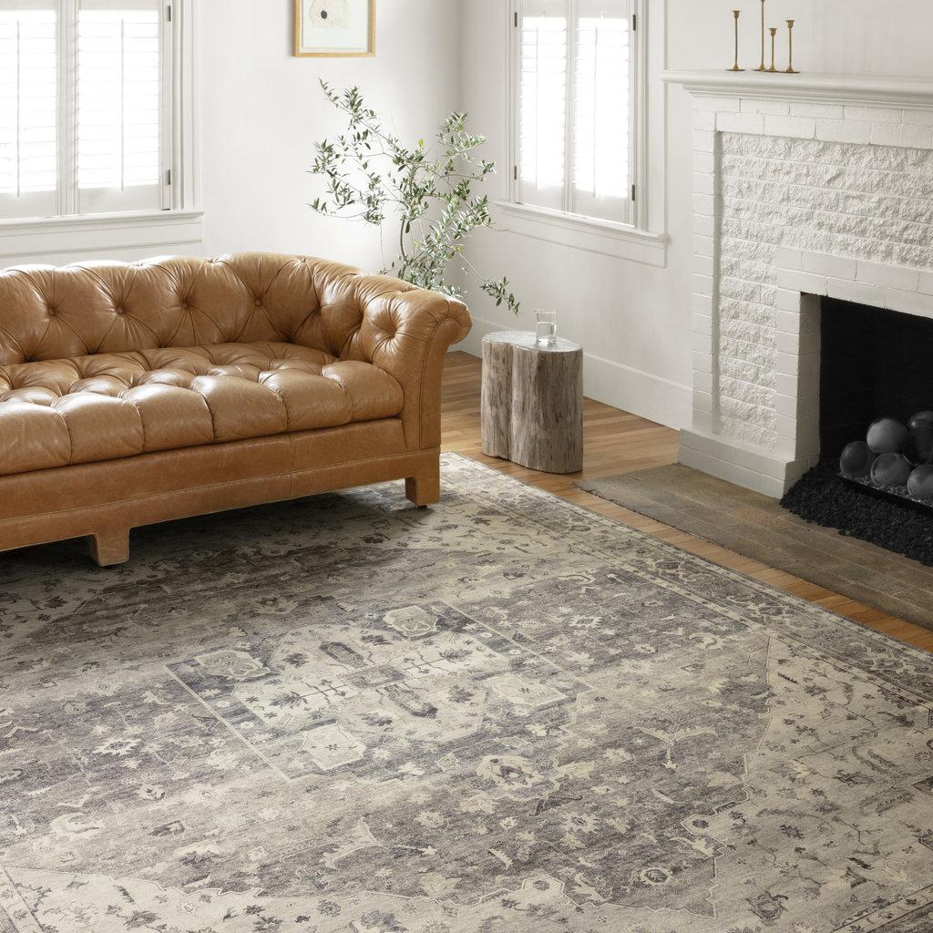 Loloi Rosedale Steel/Ivory