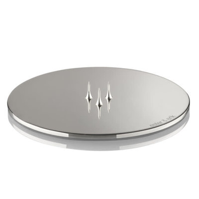 Ester&Erik E&E - Candle Plates Polished Chrome