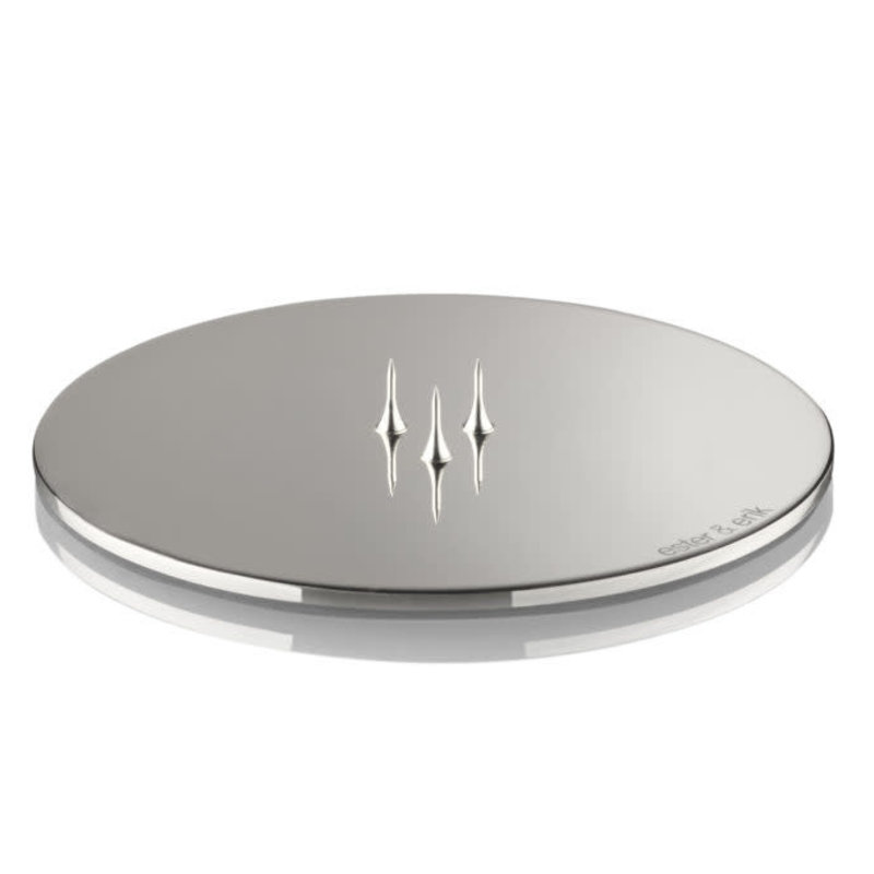 Ester&Erik Candle Plate - Polished Chrome