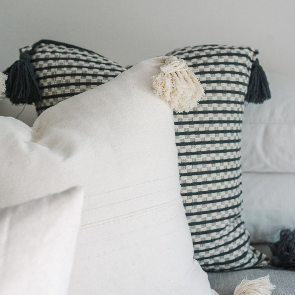 NOMAD Oaxaca Cream Cotton Stripe 20x20