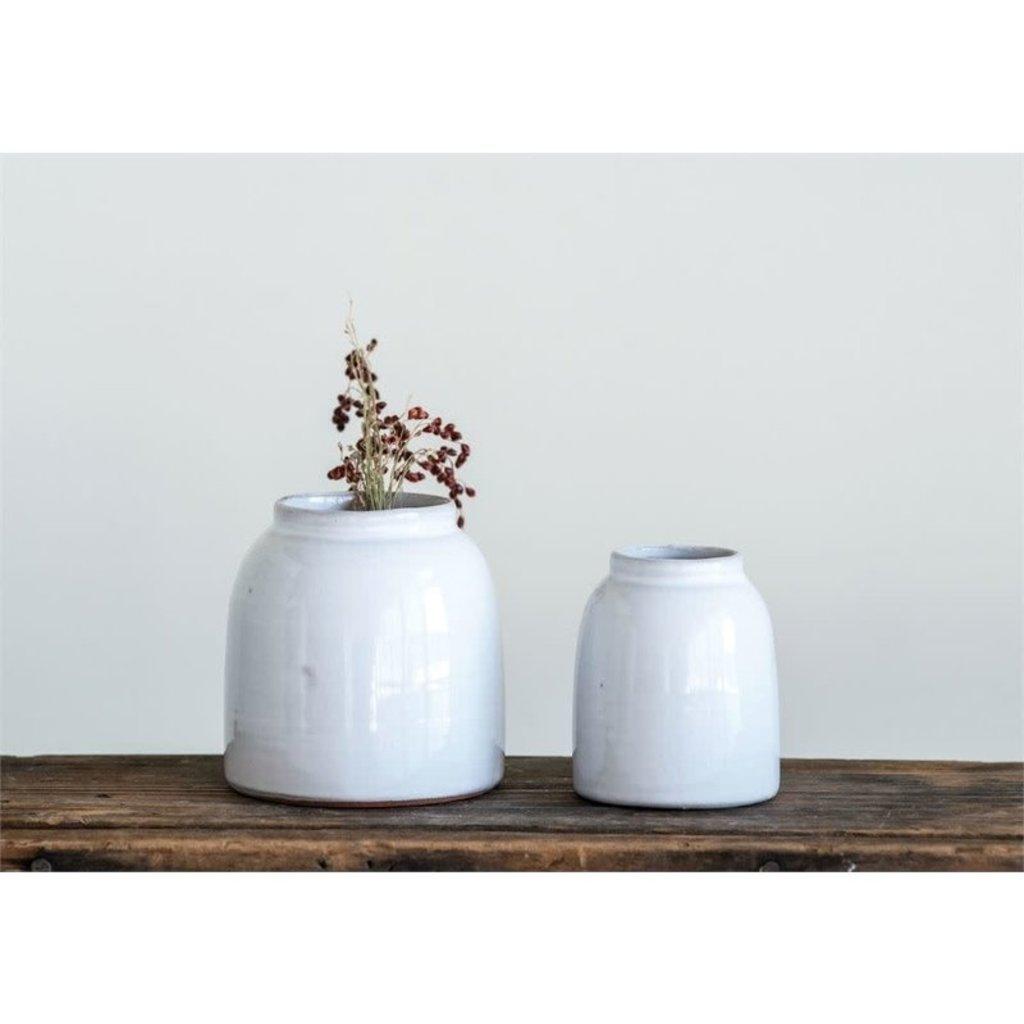 "Terra-Cotta Vase Large 4"""