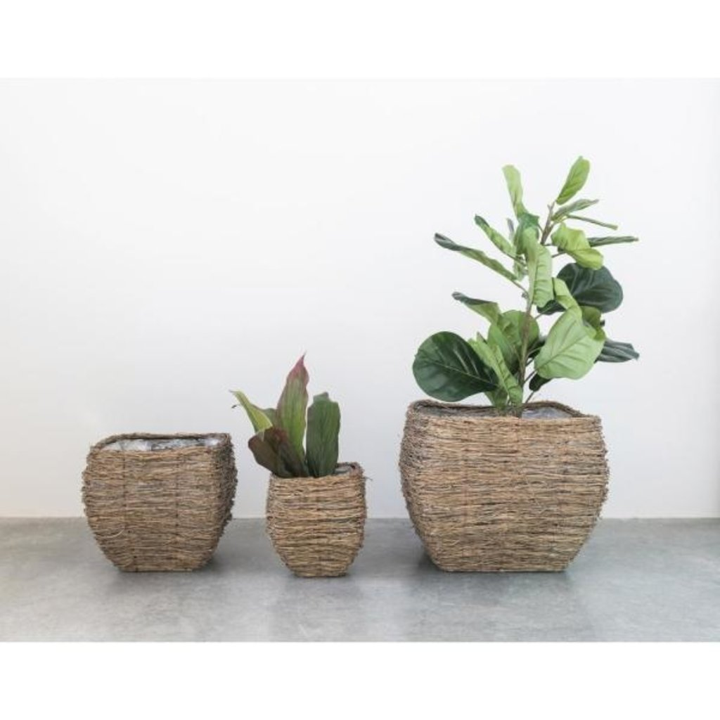 Bamboo Branch Baskets with lining