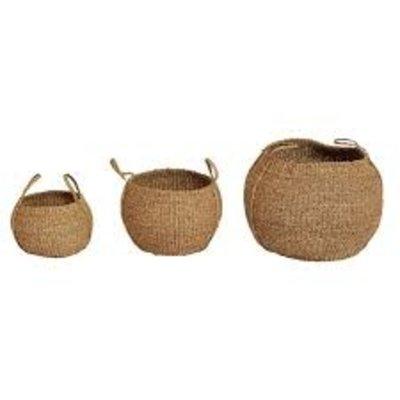 Cairo Round Seagrass Basket